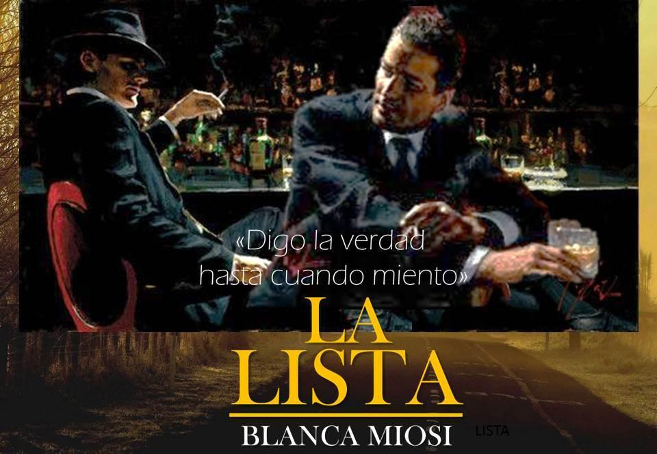 LA LISTA, Blanca Miosi Intriga desde la primera página. Lecury y Tabone. Un judío y un italiano embarcados en una misión. ¿De verdad ayudaban a Toni Montero?   #KindleUnlimited #Miami #Boston #SF #LA #SanDiego #Chicago #NYC