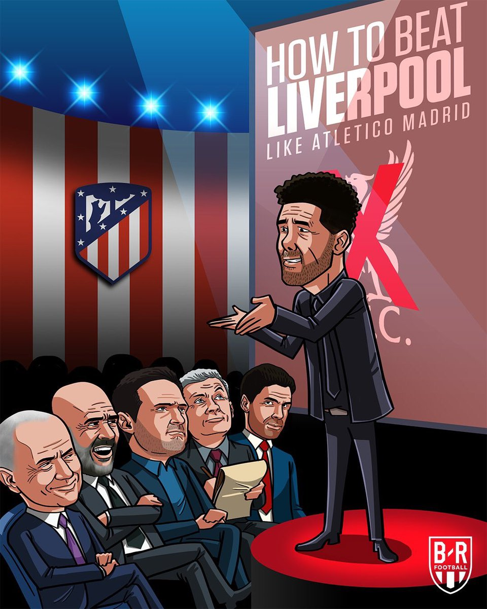 Diego Simeone is the right man to help these English Farmers League #ChampionsLeague #ATMLIV <br>http://pic.twitter.com/8dGnWKr2y6