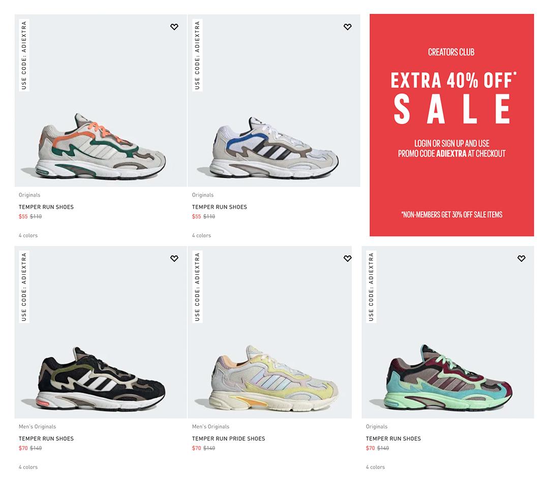 adidas discount code europe
