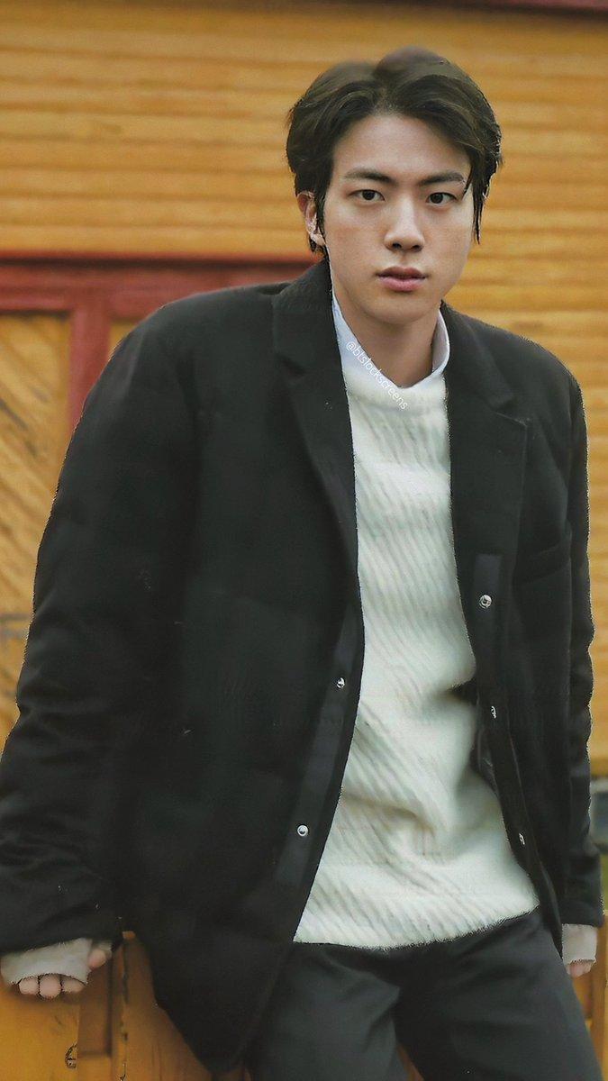 Slow On Twitter Bts Winter Package 2020 Jin Kim Seokjin Lockscreens Wallpapers Scan Cr Chimtae D