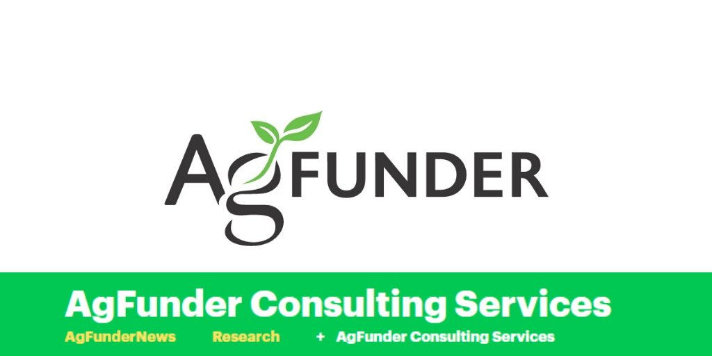 AgFunder: Disruption Happens Quickly. Are You Ready?  Leveraging our investment infrastructure we can bring you the cutting edge of the #foodtech and #agtech innovation.  Find out more about our #ConsultingServices http://bit.ly/329zYjI  #AgFunder …pic.twitter.com/2g6drRzb5t