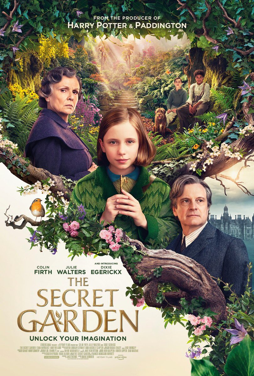 This is your garden, and it can be whatever you want it to be. Based on the timeless novel, unlock your imagination this Easter with #TheSecretGarden –starring #ColinFirth #JulieWalters and #DixieEgerickx pic.twitter.com/8NqToehd1F