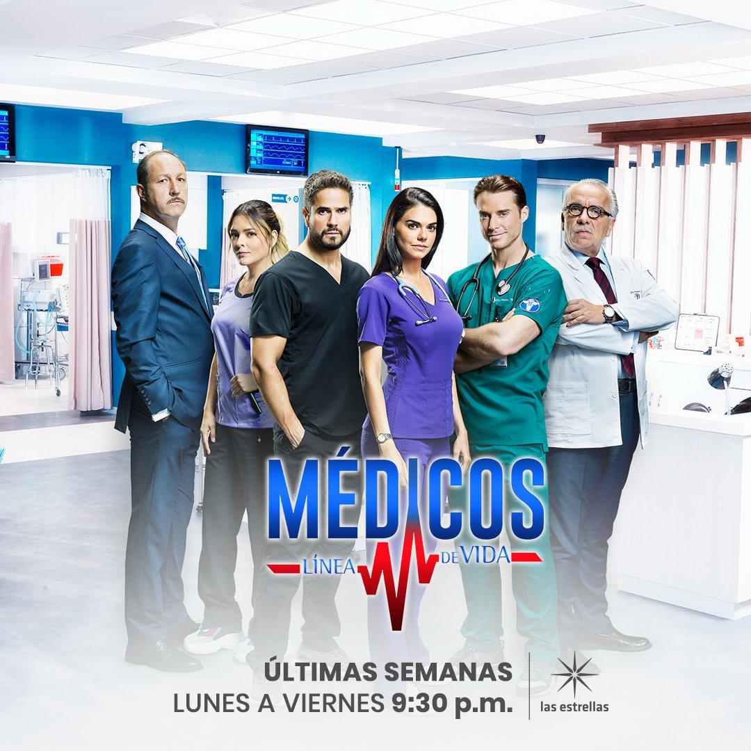 Médicos Línea De Vida على تويتر Disfruta De Las últimas Semanas De Médicos De Lunes A Viernes 9 30 P M Mx Conlasestrellas