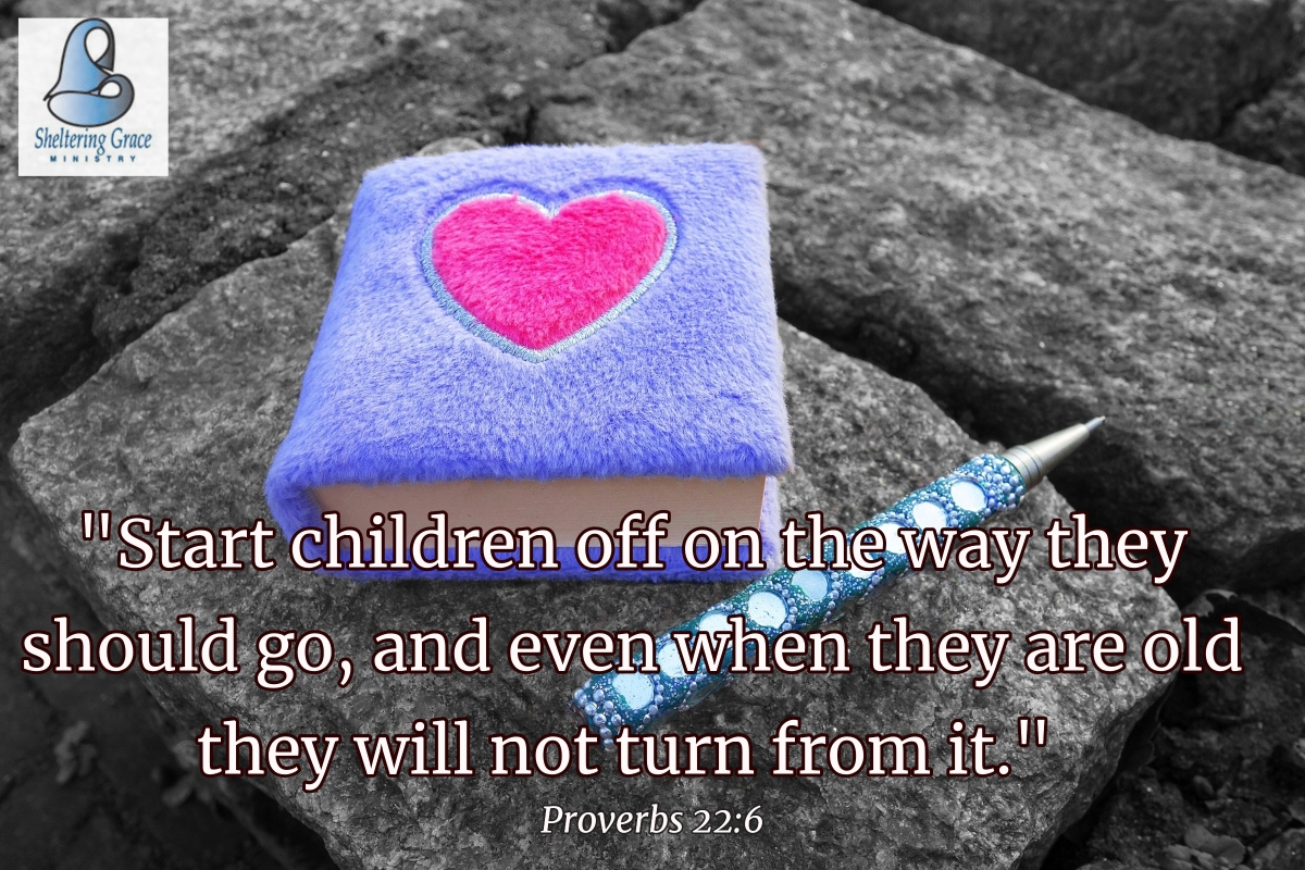 """""""Start #children off on the way they should go, and even when they are old they will not turn from it."""" - Proverbs 22:6 #bible pic.twitter.com/fxeIxNAnpb"""