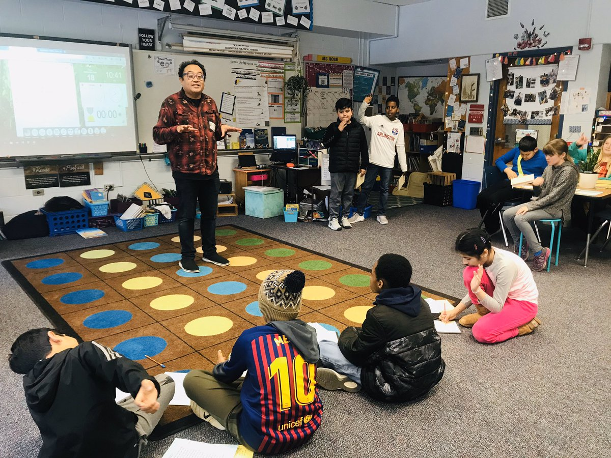 Day one of poetry with Mr.Reggie... poetry slam here we come! <a target='_blank' href='http://twitter.com/literateturtles'>@literateturtles</a> <a target='_blank' href='http://twitter.com/OConnor4_5'>@OConnor4_5</a> <a target='_blank' href='http://twitter.com/MsRoseTweets'>@MsRoseTweets</a> <a target='_blank' href='http://twitter.com/ThinkCampbell'>@ThinkCampbell</a> <a target='_blank' href='http://twitter.com/CampbellAPS'>@CampbellAPS</a> <a target='_blank' href='https://t.co/eeu2ee95Mb'>https://t.co/eeu2ee95Mb</a>