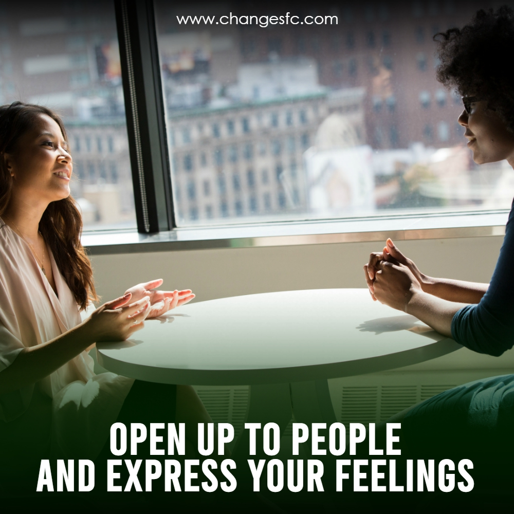If something's bothering you, don't keep it to yourself. Talk to people you trust, like friends, family, or coworkers, about what's on your mind. - 🌐 http://www.changesfc.com   #changesfc #sexaddiction #trauma #somaticexperience #change #religiousabuse #religioustrauma