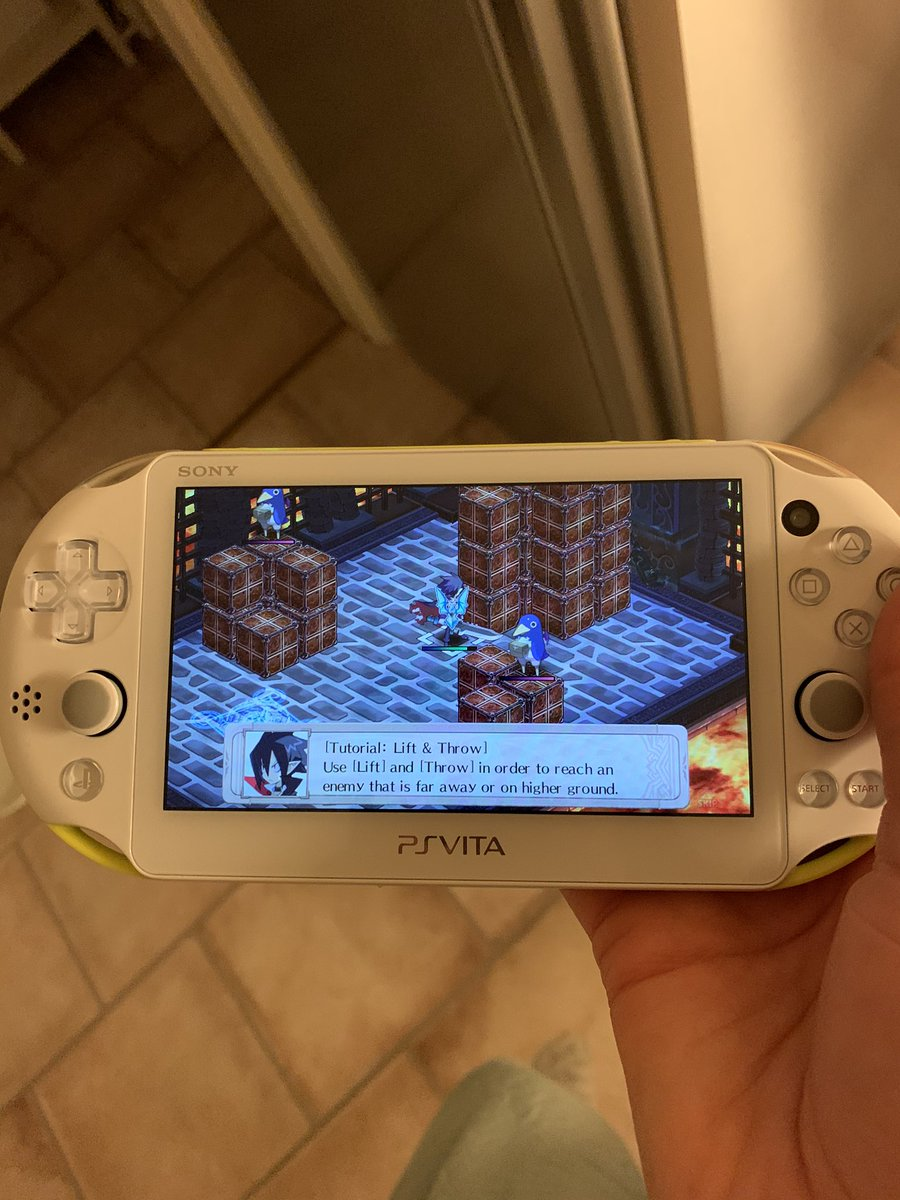 Bedtime and Disgaea to keep me company until I fall asleep. Good night everyone  #VitaIsland <br>http://pic.twitter.com/bkt0KLHsf4