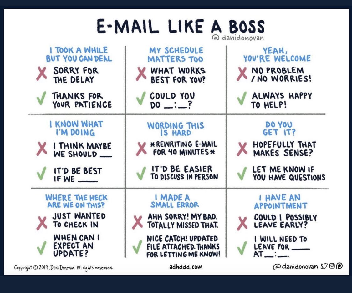 How to email like a boss! #AcademicChatter #academictwitter #phdlife #mdlife #seriousscience<br>http://pic.twitter.com/Wke9h2ffLF