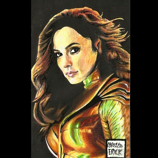 Wonder Woman 1984 Colored pencils #wonderwoman #wonderwoman84 #portrait #dcuniverse #DCcomics #GalGadot #Amazon #ColoredPencils #Drawing #Sketchbook #goldeaglearmor #WW84 #WW84movie #pattyjenkinsdirector @gal_gadot https://ift.tt/3bQIYi7pic.twitter.com/m79VLigNPp