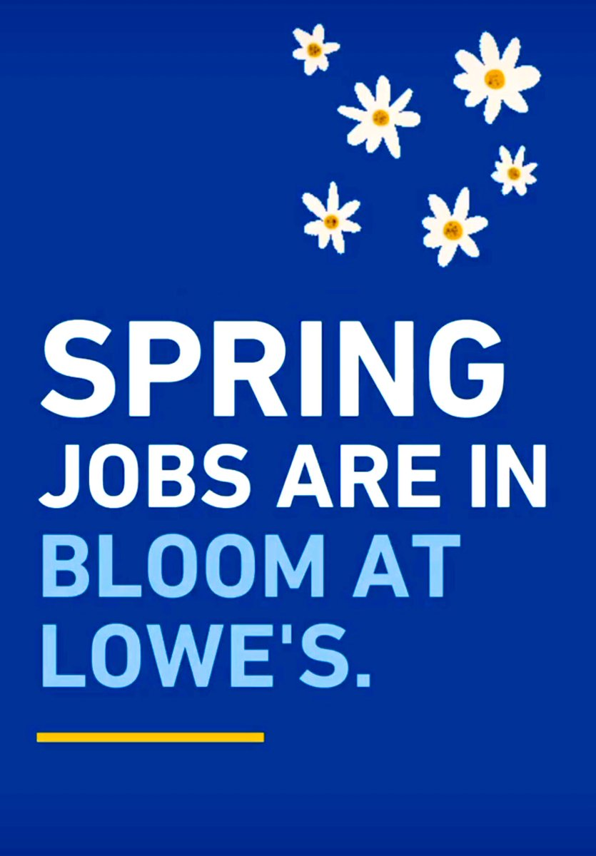 JOIN US!    Tomorrow, 2/19 starting at 10am  Join all #lowes stores in Region 30 for our #hiringevent #TuesdayTip #jobs #northhiring #R30HIRE #R30HIRESUP #Retail #retailjobspic.twitter.com/Vz5tLdTuQF