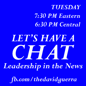It's Time To Join Me RIGHT NOW for my Daily #Livestream @  http://facebook.com/thedavidguerra  Let's Have A Chat: IN THE NEWS  #Leadership #LetsHaveAChat #News #WalkingLeader #LeadershipGreatness #success #Leaders #RealDeal #CurrentEvents #LeadershipGrowth #learning #trainingpic.twitter.com/cj4w5cV6gH