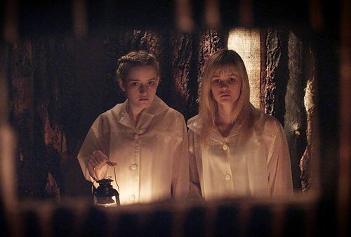 Julia Garner & Ambyr Childers in We Are What We Are (2013)  Director - Jim Mickle   #horror  #womeninfilm  pic.twitter.com/dukRrCpjef