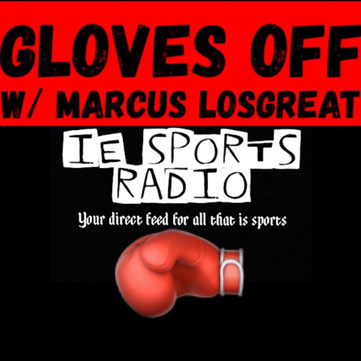 Tune in live for #GlovesOff with @MLosgreat! #WilderFury2 #Boxing #MMATwitter #UFCFightNight167 #ShowtimeBoxing #ShoBox #GarciaFonseca #PlantFeigenbutz #DAZNUSA #PBC #GlovesOffBoxing #Boxeo #PremierBoxing https://www.spreaker.com/user/iesportsradio…