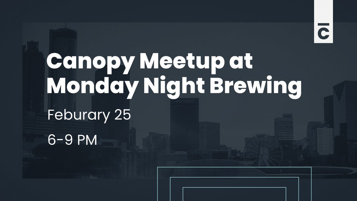 Come hang out with us! We're hosting a free meetup at @MondayNight February 25 from 6-9 PM.   You in? Just let us know you're coming by RSVPing here: http://bit.ly/2HupZeZpic.twitter.com/ghscytx5QH
