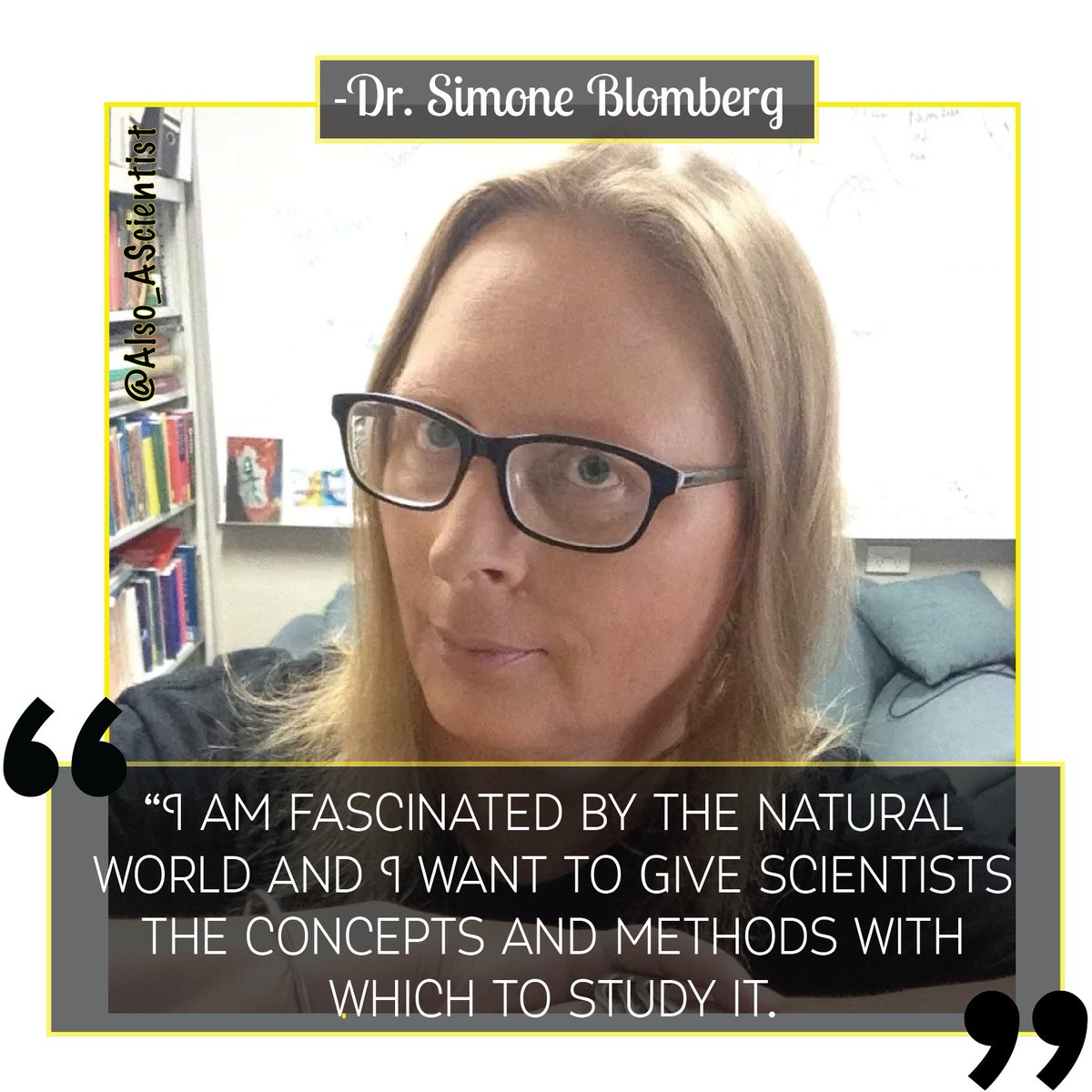 Meet @simoneb66, whose early love of lizards 🦎 led to a PhD in ecology! Now at the U. of Queenland🇦🇺 she develops mathematical models to describe macroevolution. You can also find her strumming bass guitar or meditating! #WomenInSTEM #QueerInSTEM ✨ow.ly/RXJd50yk6OV ✨