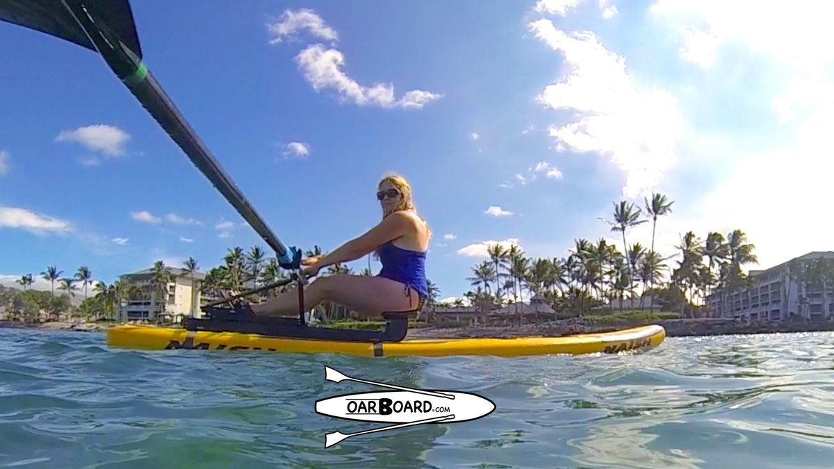 Fun & Adventure! The Oar Board® packs up so you can travel anywhere!  Row or Paddle 2-in-1!!  20% OFF   🌊🌴🚣🌞 #rowing #oarboard #sup #standuppaddle #fun #adventure #oars #row  #travel #paddling  #boat #suprower #summer