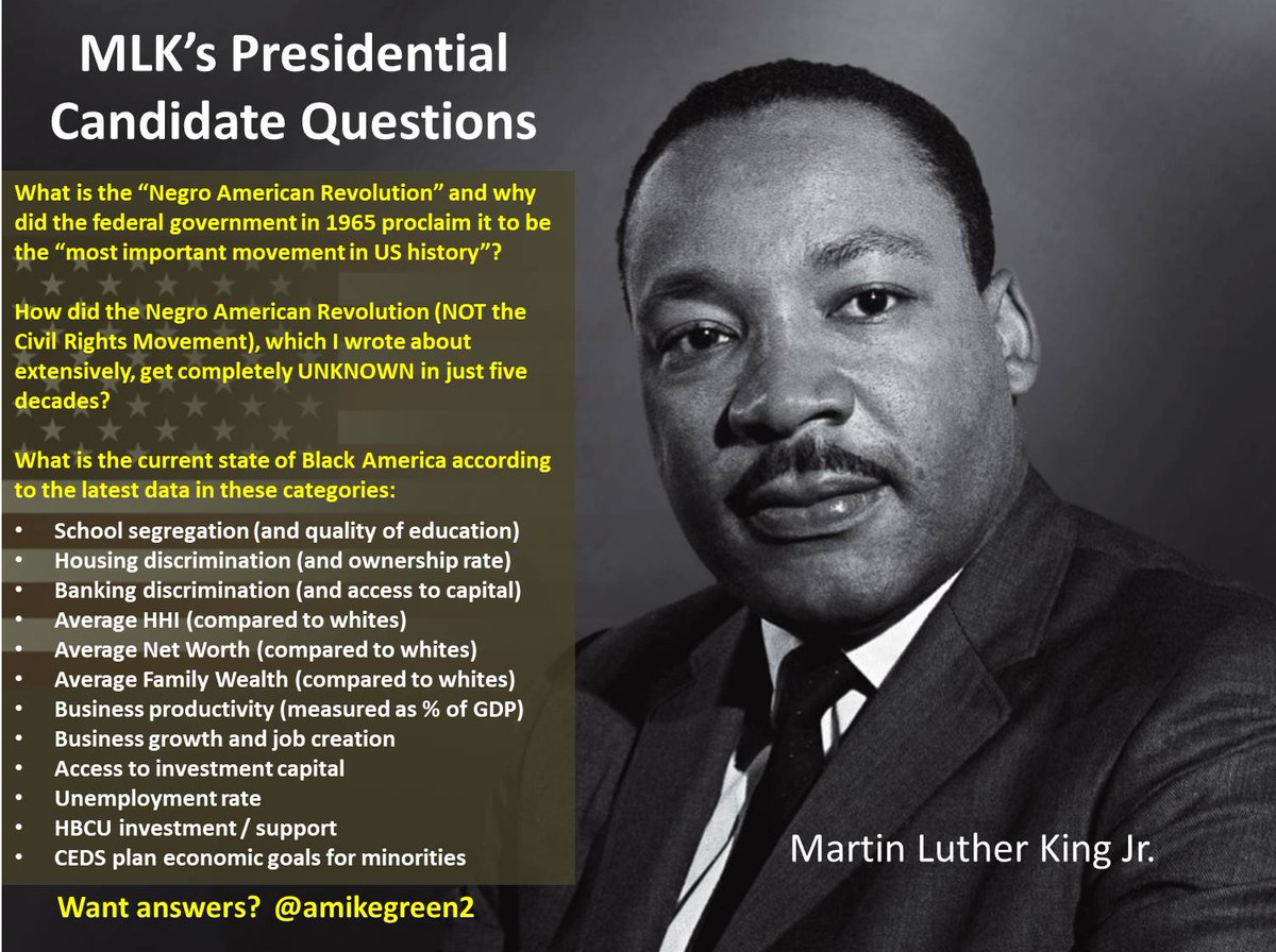 Dear @realDonaldTrump ... remember 1968 when you joined your dad's company actively discriminating against black Americans while #MLK  was risking his life protesting such policies & practices? The day after we honored #MLKDAY  we started your #impeachment trial. Here's MLK Qs 4U:<br>http://pic.twitter.com/MQjYNQg3b5