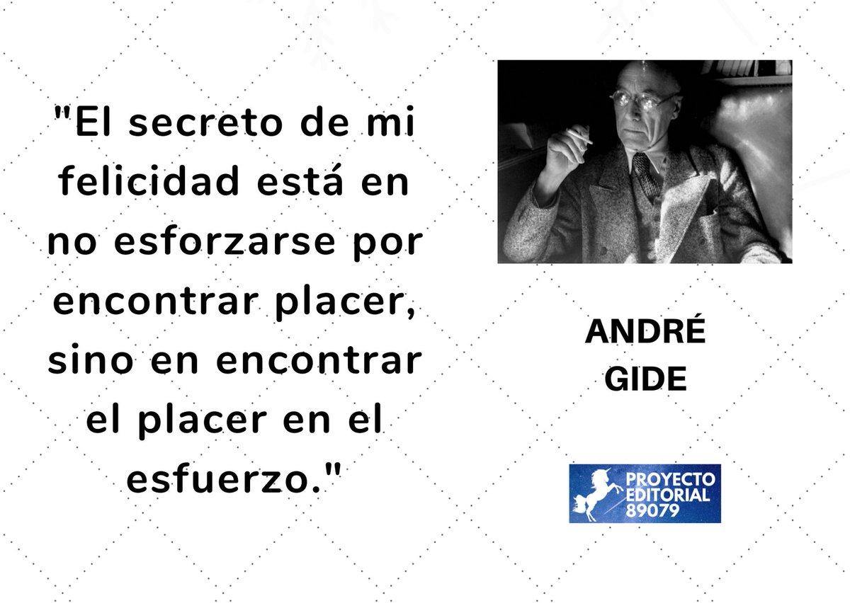 Recordamos hoy a André Gide, novelista, ensayista y poeta francès, ganador del Premio Nobel de Literatura en 1947, fallecido un 19 de febrero, hace exactamente 69 años, en 1.951. #poeticadeldialogo #proyectoeditorial89079 #editorialindependiente #amorporloslibros pic.twitter.com/188RENr98o