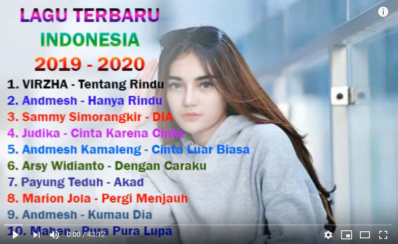 https://www.youtube.com/watch?v=MSj3JjkpIqI… dengar musik terbaru indonesia #ThankYouACE #rabuambyar #OPMWajibDibubarkan #music #indonesiamusik #laguindonesia #topsongindonesia #topsongpic.twitter.com/M6AxYzuksD