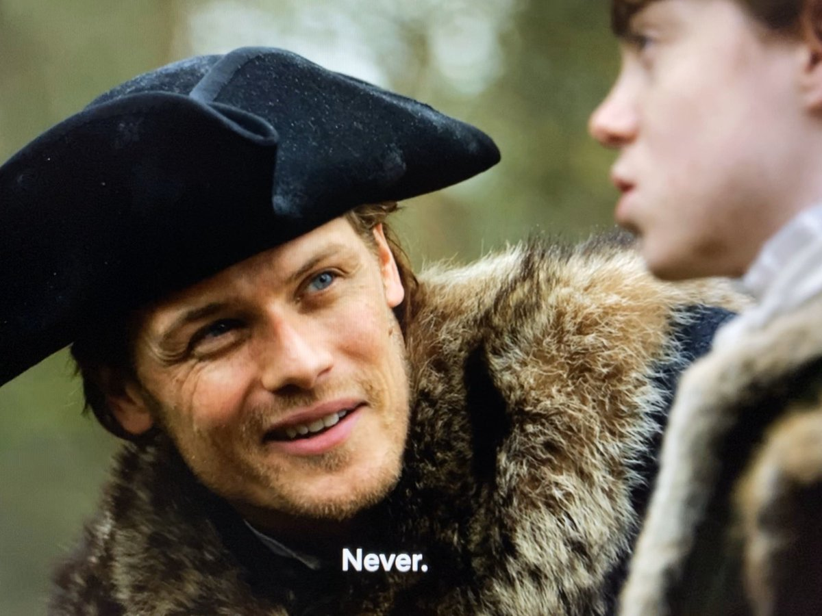 """The love of a father. When #LordWilliamRansom looks over #FrasersRidge... """"Have you ever seen such a glorious thing before, sir?"""" - #Outlander S4.E6"""