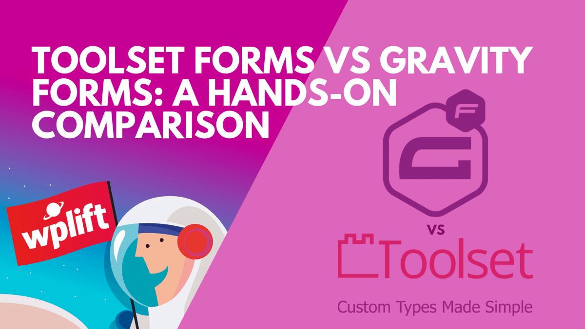 Toolset Forms vs Gravity Forms: A Hands-On Comparison - http://bit.ly/2U840zc #WebDesign #WebDev #Wordpress #WordPressDesign #WordPressDevpic.twitter.com/9rTAFPiuJ1