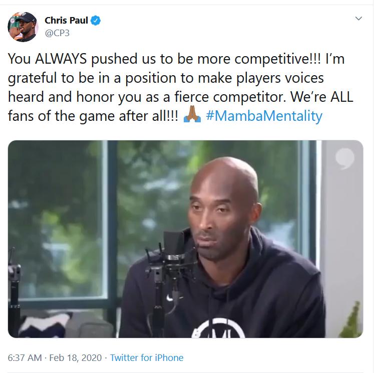 保羅分享Kobe生前影片:老大批評全明星不夠精彩,他曾「搞砸」喬丹謝幕戰!(影)-Haters-黑特籃球NBA新聞影音圖片分享社區