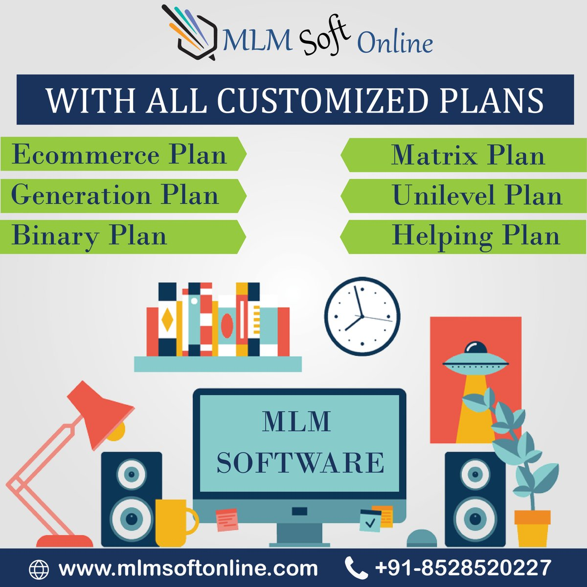 We Are Serve Best MLM Customized Plans With Software,Start Your MLM  Business With Us And Start Earning.... For More Info Visit:- https://bit.ly/326rdH3  #mlmsoftware #marketing #software pic.twitter.com/NtEXXfdhH4
