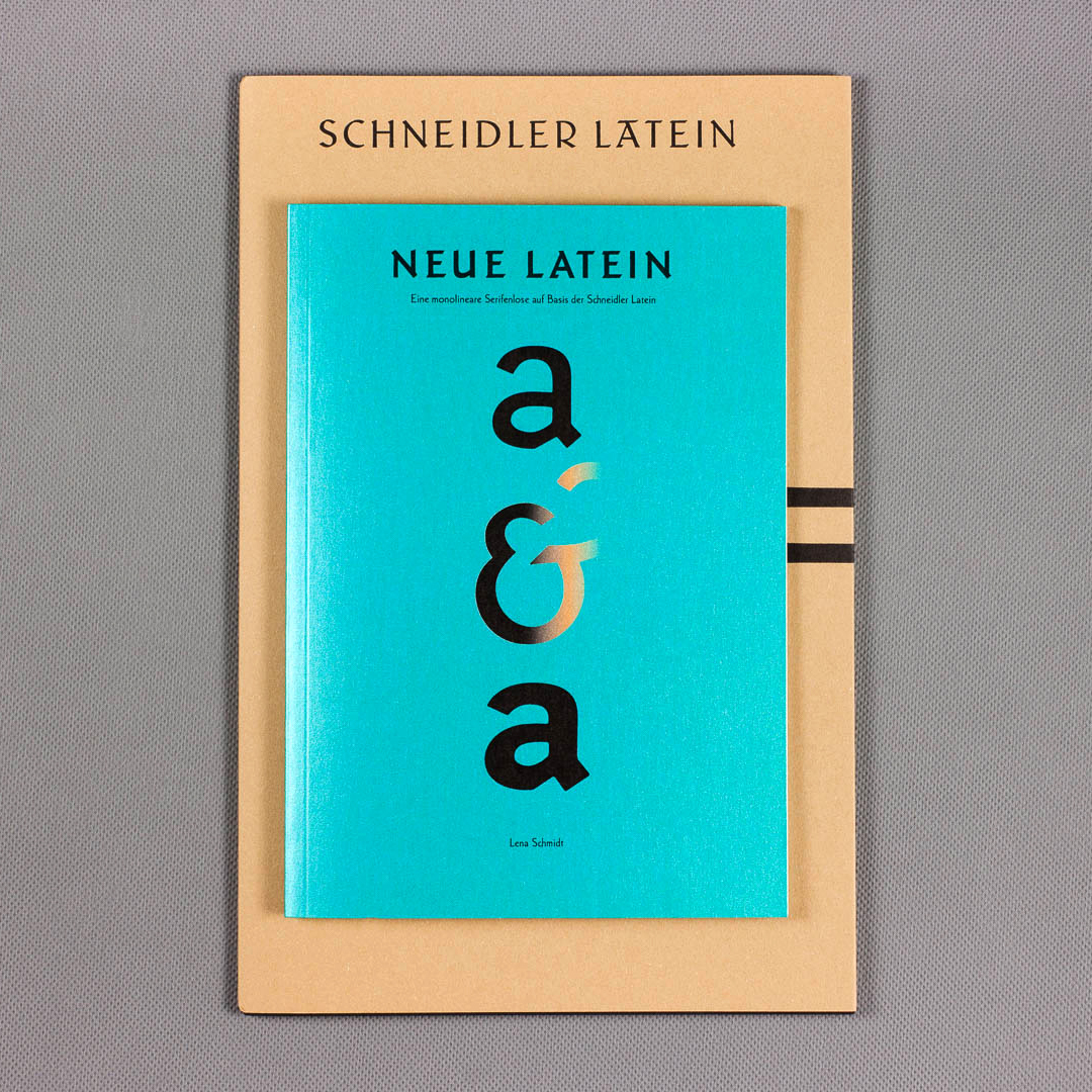 Schneidler Latein Type Specimen  Cover letterpress and cliche printed on 250g Materica-Paper with 1,8 volume. Inner part is printed in offset on 120g Salzer EOS Paper mit 1,5 volume, natural white. 180 × 280 mm, thread stitching. A leaflet printed in letterpress is bound in. pic.twitter.com/6RYKfbnGdW