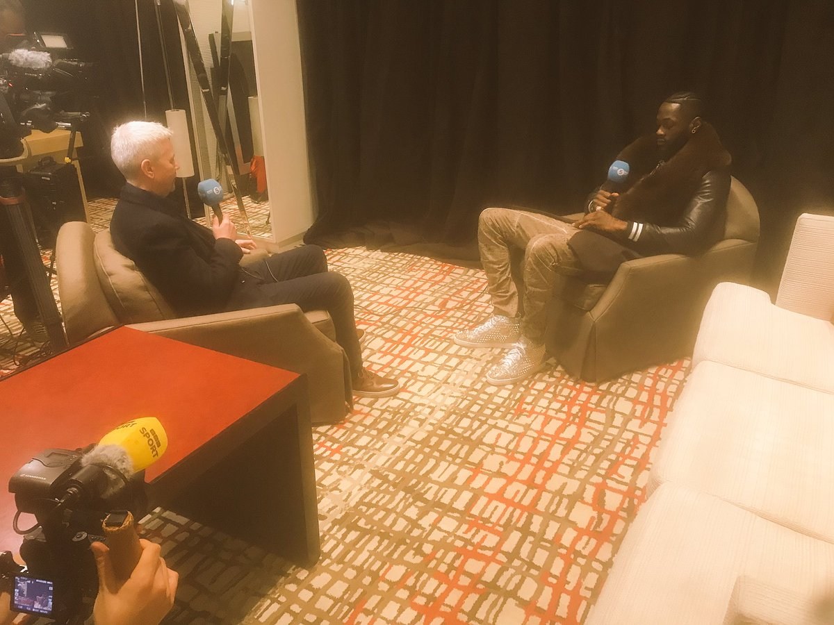 Lively day in Las Vegas. Wilder talking Ali, Fury aboard a red Ferrari, tickets on sale for $100 to watch on big screen, boxing rings everywhere you turn and bookies edging to the champion. Latest: http://www.bbc.co.uk/sport/boxing/51556710… #WilderFury #bbcboxing