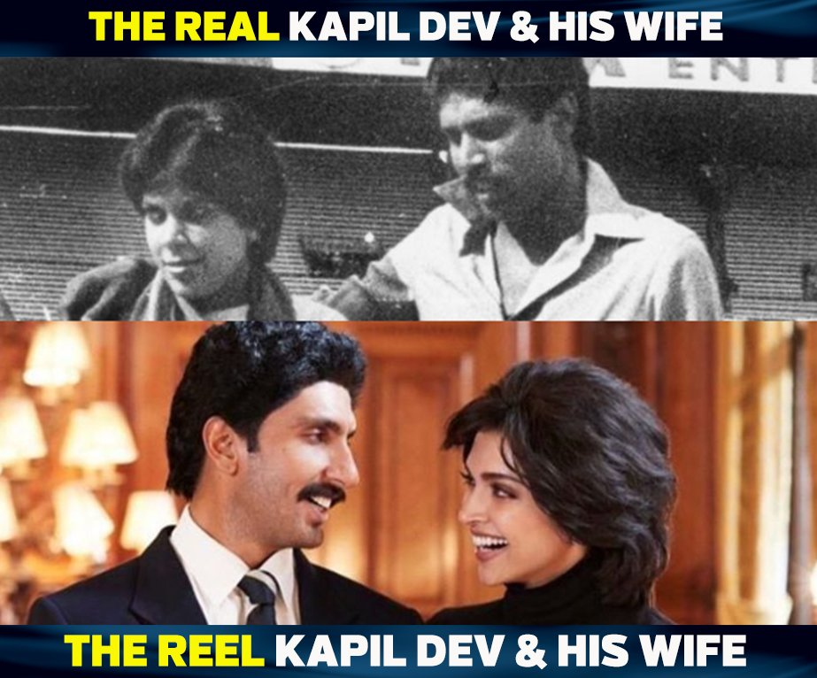 .@deepikapadukone will be playing the role of Kapil Dev's wife Romi Dev in the upcoming movie '83.' #83TheFilm <br>http://pic.twitter.com/NmRPcpFpzs
