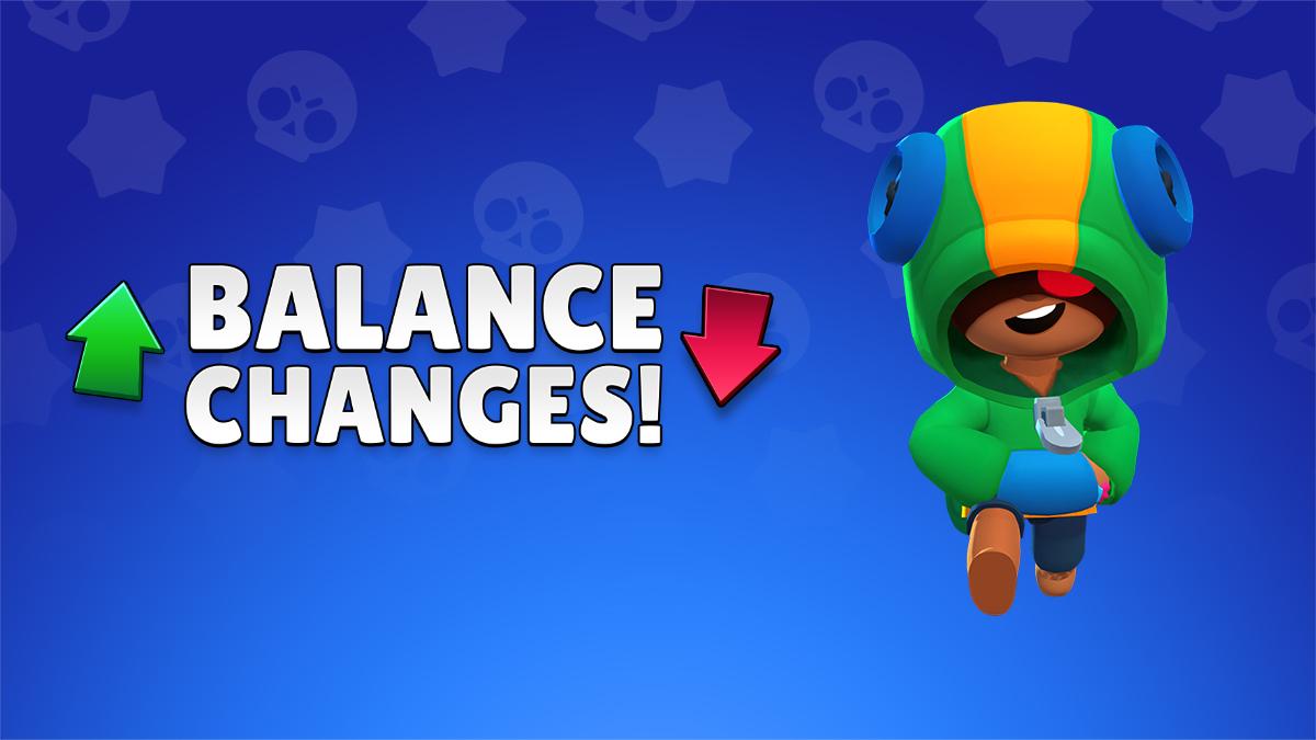 BALANCE CHANGES (/w interactions) 19-FEB Brawl Stars UP!