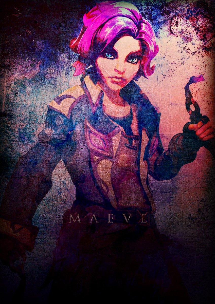 Maeve poster @The_kitty_Nya @MaeveOfPaladins @MaeveBlades @Ofblades_Maeve   #Paladinsart