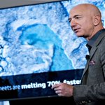 Image for the Tweet beginning: Bezos Says He'll Commit $10