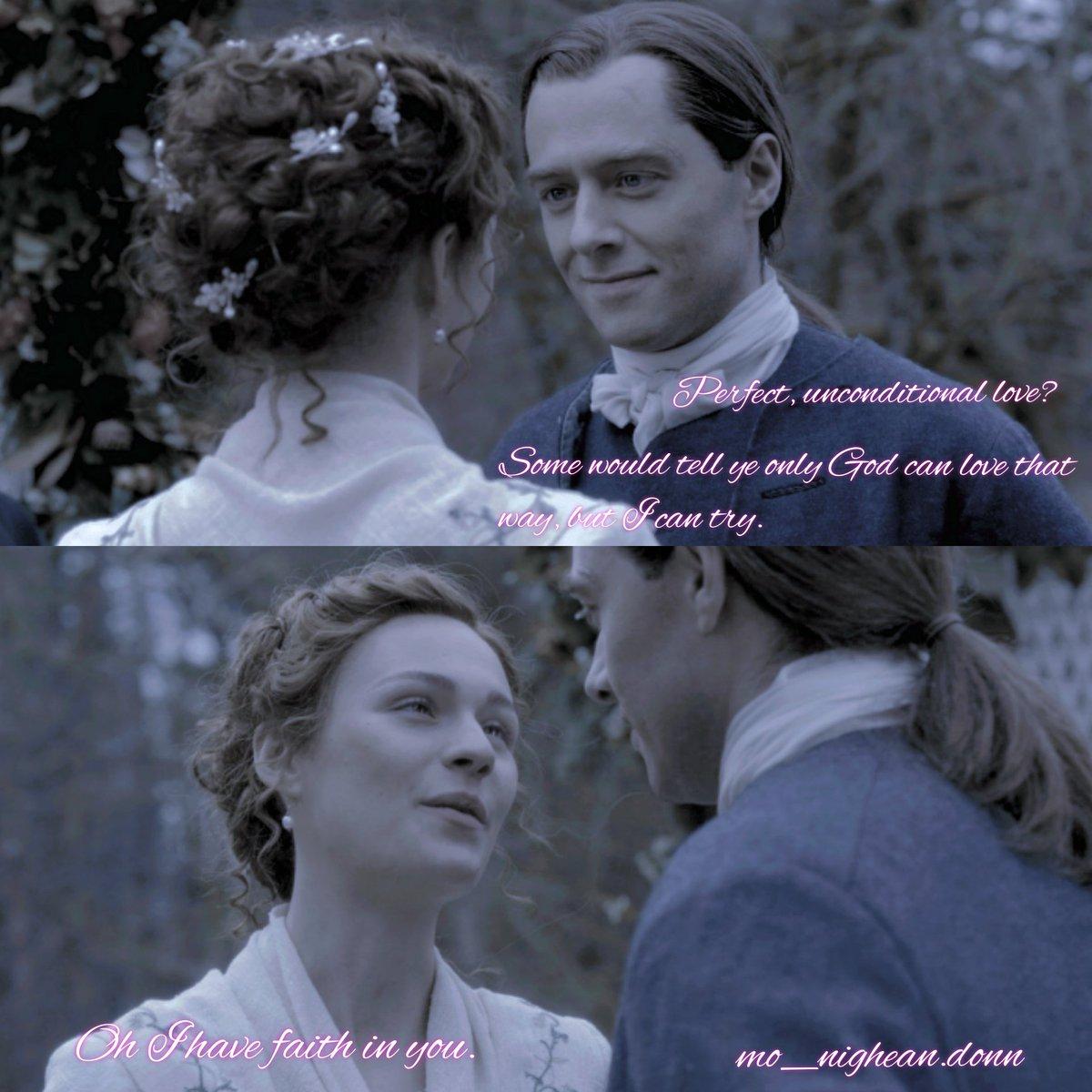 #RogerandBrianna #TheMacKenzies #BriannaFraserMacKenzie  #RogerMac #Outlander #OutlanderS5 #TheFieryCross #FrasersRidge #RichardRankinandSophieSkelton #RichardRankin #SophieSkelton