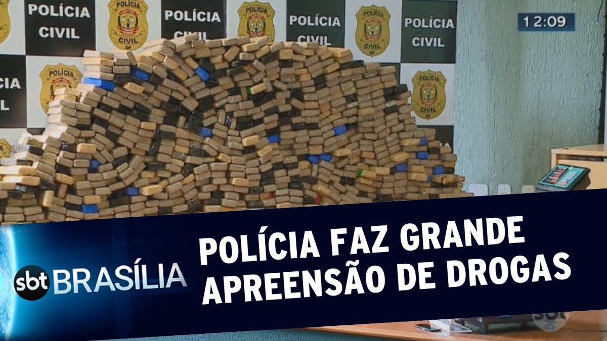 Polícia faz grande apreensão de maconha | SBT Brasília 18/02/2020pic.twitter.com/sWsoYYff9c