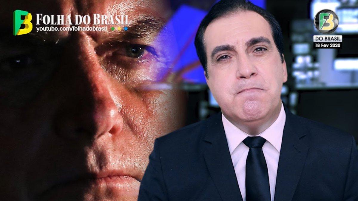 "Impeachment de Bolsonaro? ""o TERRlVEL CRlME do Presidente""pic.twitter.com/dg9oBYJ0UV"