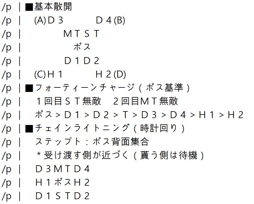 マクロ エデン 零 式 1 層 【FF14】エデン零式共鳴編1層の攻略