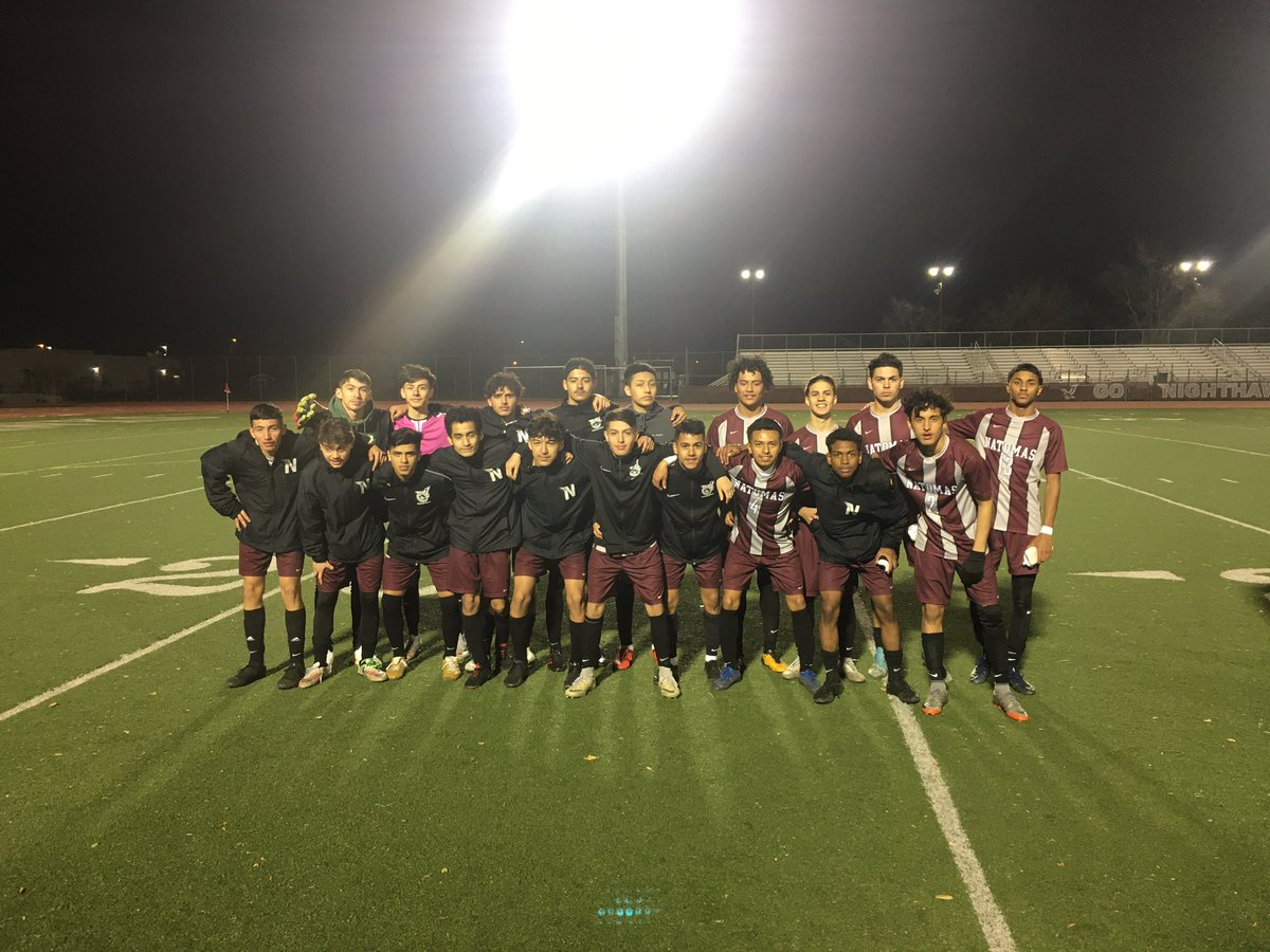 SOARing Victory in round 1 of playoffs! Round 2 Thursday night. Go Nighthawks! @AthleticsNusd https://t.co/oBwNQYEzYJ