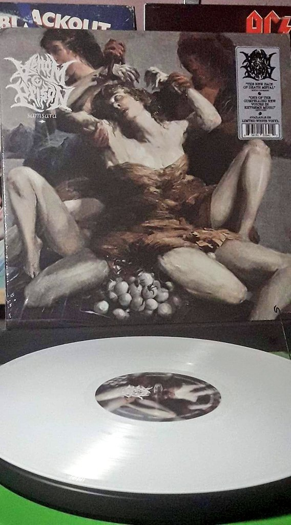 Venom Prison #vinyl   Felt like shit all day with a touch of the flu....I think a shot of venom will help🤞