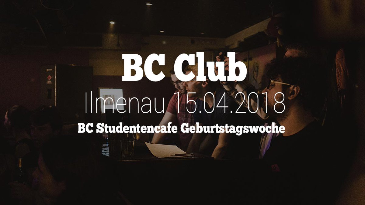 (Anzeige) Clubbesuch Ilmenau BC Studentenclub https://cmun.it/yepmtva via @youtube #Ilmenau #himmelblau #Thüringen #TUIlmenau #TechnischeUniversitätIlmenau #Party #House #DJ #Disco #nightlife #nachtleben #bcclub @bc_CLUBilmpic.twitter.com/vAqNJbEs1y