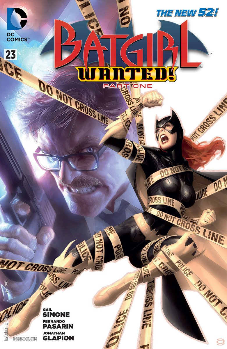 Wanted Part One. The cover to Batgirl # 23 by Alex Garner. #alexgarner #batgirl #commisionerjomgordon #wanted #dccomics #thecosmiccomicbookbroadcast #comicbookbroadcaster #ICON #comicbooks pic.twitter.com/rSDW9X2t3b