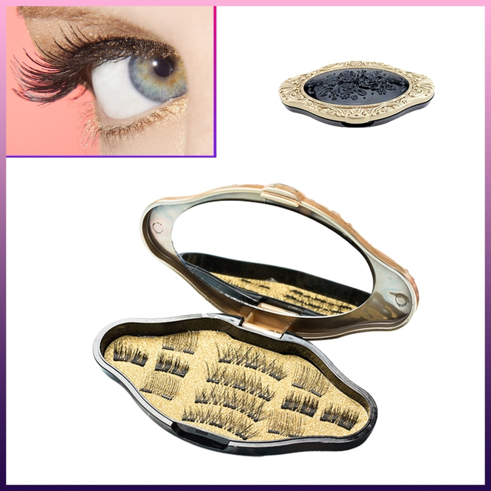 #friends #cool 3D Mink Makeup Magnetic Eyelashes