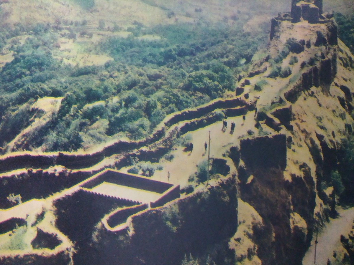 1960s :: Pratapgad Fort, Maharashtra.   Here In 1659 A.D The Battle Between Chhatrapati Shivaji Maharaj and Afzal Khan of Bijapur Was Fought