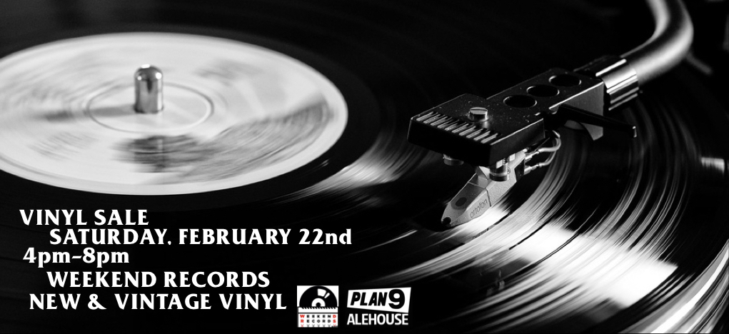 Weekend Records is rolling through this Saturday, February 22nd from 4pm-8pm. New & vintage vinyl for sale. Come on down. #Plan9Alehouse #DowntownEscondido #WeekendRecords #Vinyl #Records #Music #Punk #Rock #Soul #Reggae #Pop #Local #70s #80s #Cheesy #Fun