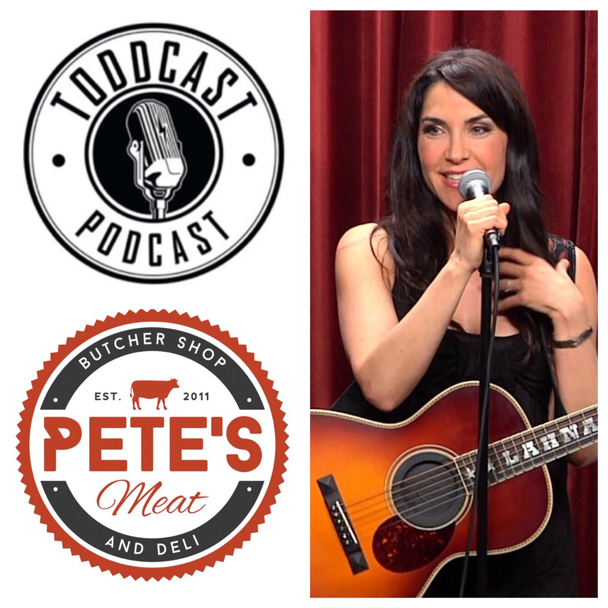 #LosAngeles #Comedian / #Perfect10 podcast host #LahnaTurner was a guest of Ep.106. http://ow.ly/hIaK309wB99  * @Petesmeats powers entertainment guest visits!pic.twitter.com/dL53fgLe0H