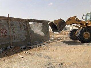 إزالة تعدٍ على عشرة آلاف متر بنطاق بلدية طيبة الفرعية.https://is.gd/m2WKCF