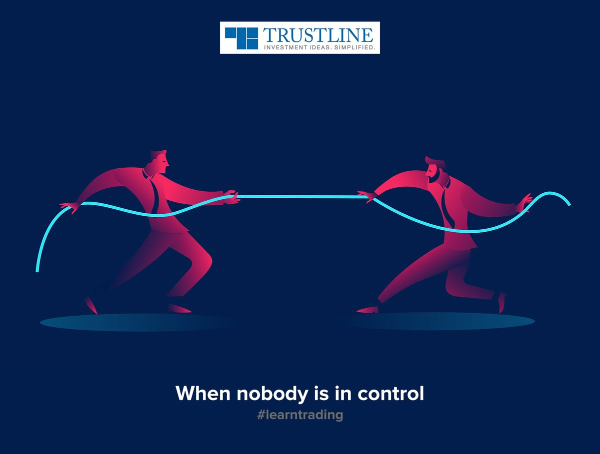 A Spinning-top candle conveys the indecision in the market. That's when both bulls and bears have equal control. #learntrading https://www.trustline.in/financial-markets …