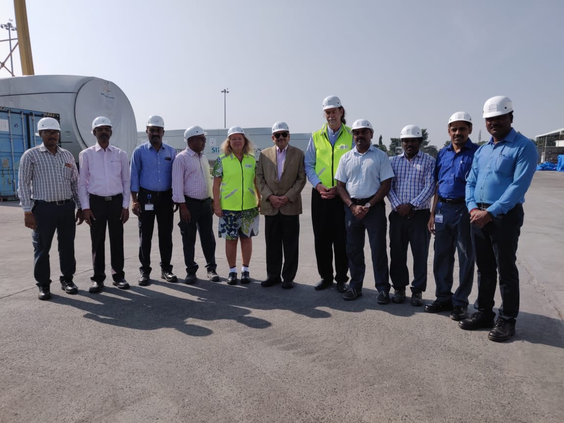 Did you know, appr 40% of India's renewable energy comes from wind? And Siemens Gamesa (3000 employees in India) is India's market leader in that field. Just visited one of their impressive sites south of Chennai. 100% Indian technicians. Thanks Chairman Ramesh Kymal!