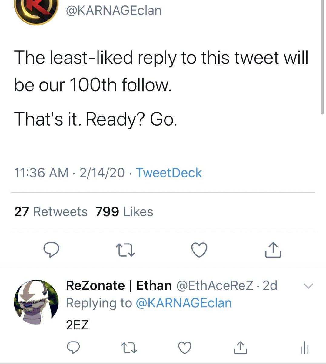 Plot twist I wasn't their 100th follow (even though I should be)pic.twitter.com/BKxA9foeJH
