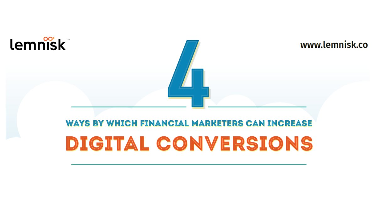 The job of a #FinancialServices marketer has become very difficult in this age of #DigitalTransformation. Read this infographic to see how #FinancialMarketers can increase #digitalconversions. https://buff.ly/2LeWtin   #marketing #FinancialMarketing #DataDrivenMarketing #CDPpic.twitter.com/Ma4GH8ISRo